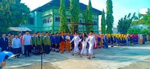 Upacara Hari Santri Pondok Pesantren Darul Falah Besongo Semarang
