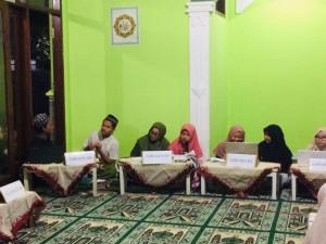Suasana Halaqah Kubra Pondok Pesantren Darul Falah Besongo Semarang 2020