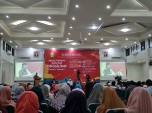 """Prof. H. Syafiq A. Mughni (Ketua pimpinan pusat Muhammadiyah) memberikan penjelasan tentang """"Radikalisme"""""""